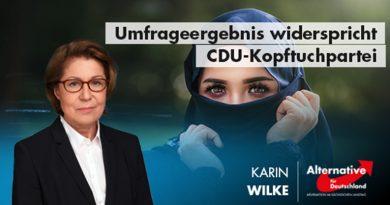 Umfrageergebnis widerspricht CDU-Kopftuchpartei