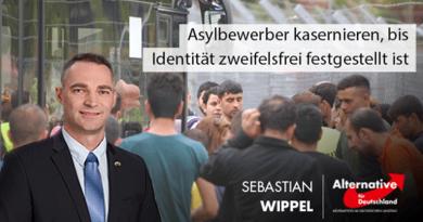 Asylbewerber kasernieren, bis Identität zweifelsfrei festgestellt ist