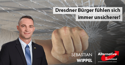 Dresdner Bürger fühlen sich immer unsicherer