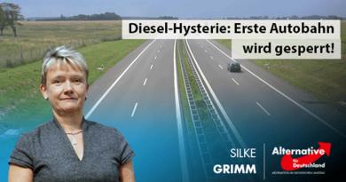 Diesel-Hysterie: Erste Autobahn wird gesperrt!