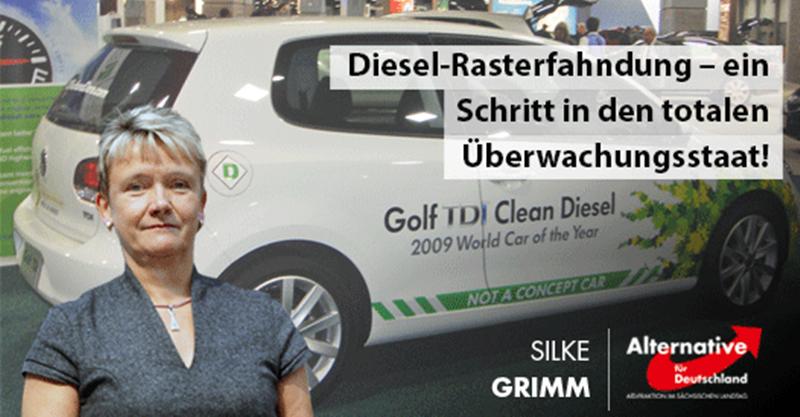 Diesel-Rasterfahndung – ein Schritt in den totalen Überwachungsstaat!