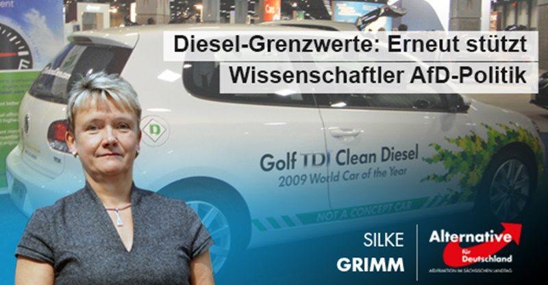 Diesel-Grenzwerte: Erneut stützt Wissenschaftler AfD-Forderungen