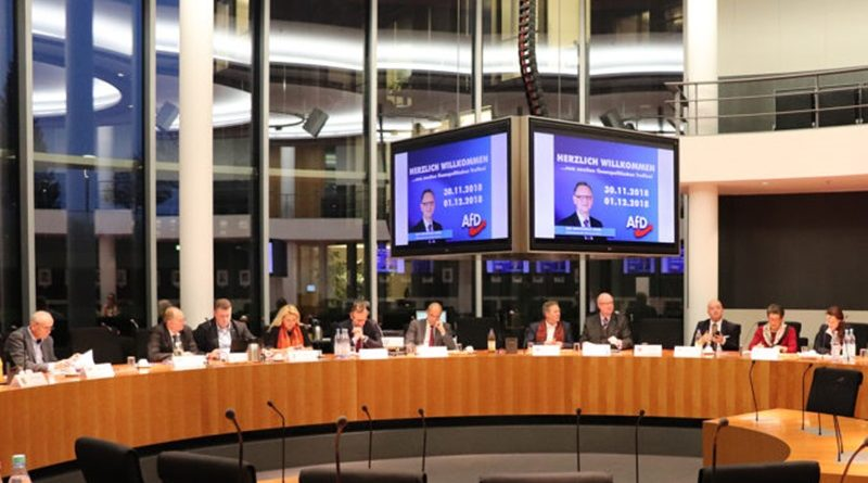 Zweites interfraktionelles Treffen der finanzpolitischen Sprecher der AfD in Berlin