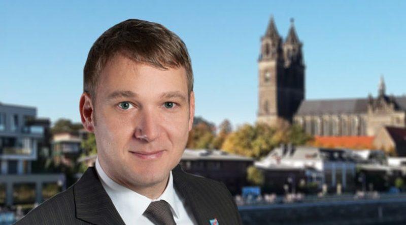 Linksextreme, Gewerkschaften und Linksparteien demonstrierten in Magdeburg Hand in Hand