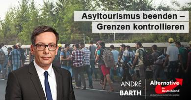 Asyltourismus beenden – Grenzen kontrollieren