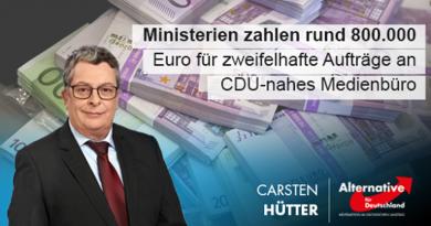 Ministerien zahlen rund 800.000 Euro für zweifelhafte Aufträge an CDU-nahes Medienbüro
