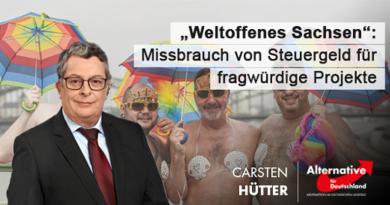 """""""Weltoffenes Sachsen"""": Missbrauch von Steuergeld für fragwürdige Projekte"""
