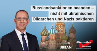 Russlandsanktionen beenden – nicht mit Oligarchen und Nazis paktieren