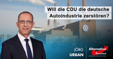 Will die CDU die deutsche Autoindustrie zerstören?