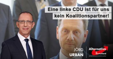 Eine linke CDU ist für uns kein Koalitionspartner!