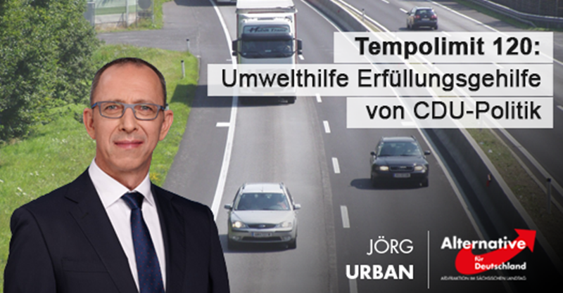 Tempolimit 120: Umwelthilfe Erfüllungsgehilfe von CDU-Politik