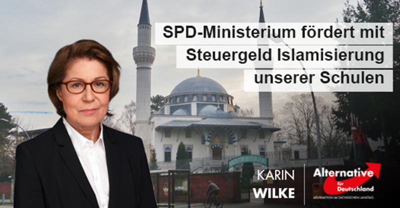 SPD-Ministerium fördert mit Steuergeld Islamisierung unserer Schulen