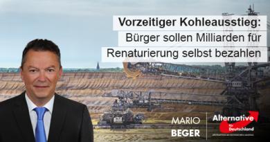 Bürger müssen fatalen CDU-Kohleausstieg mit Milliarden teuer zahlen!