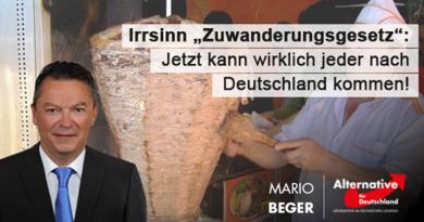 """Irrsinn """"Zuwanderungsgesetz"""": Jetzt kann wirklich jeder nach Deutschland kommen!"""