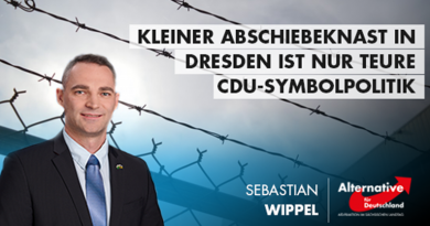 Kleiner Abschiebeknast in Dresden ist nur teure CDU-Symbolpolitik