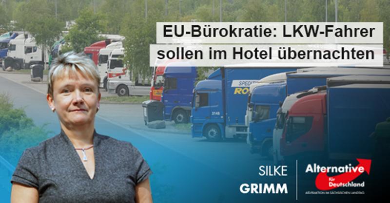EU-Bürokratie: LKW-Fahrer sollen im Hotel übernachten