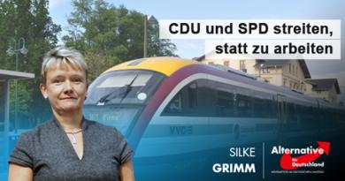 CDU und SPD streiten, statt zu arbeiten