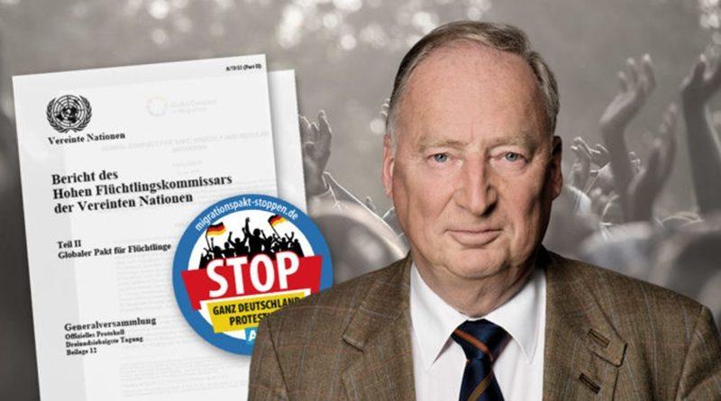 Staatsrechtler bestätigen Position der AfD-Fraktion zum Migrationspakt