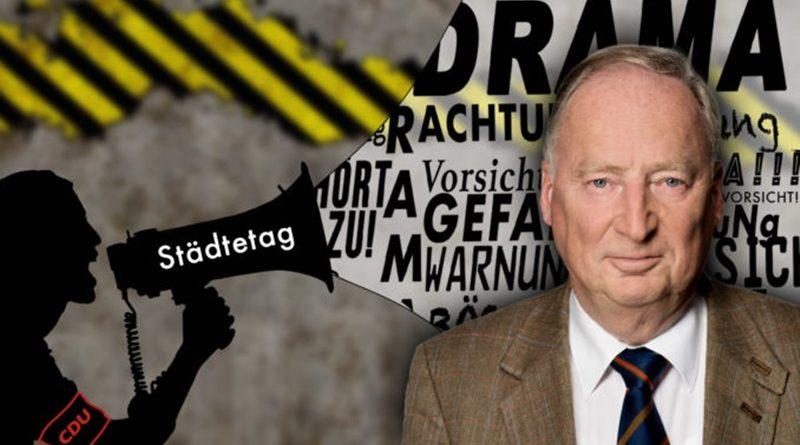 Kritik von CDU-Städtebundfunktionären an der AfD ist reines Parteigeplänkel