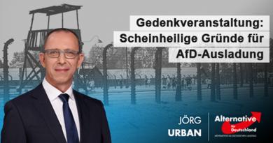Gedenkveranstaltung: Scheinheilige Gründe für AfD-Ausladung