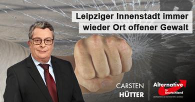 Leipzigs Innenstadt immer wieder Ort offener Gewalt