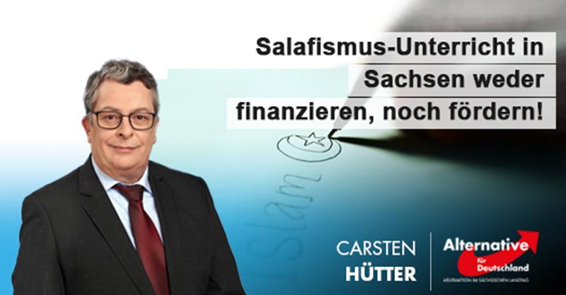 Salafismus-Unterricht in Sachsen weder finanzieren, noch fördern!
