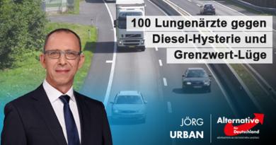 100 Lungenärzte gegen Diesel-Hysterie und Grenzwert-Lüge