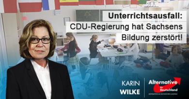 Unterrichtsausfall: CDU-Regierung hat Sachsens Bildung zerstört!