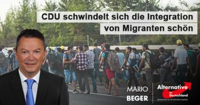 CDU schwindelt sich die Integration von Ausländern schön