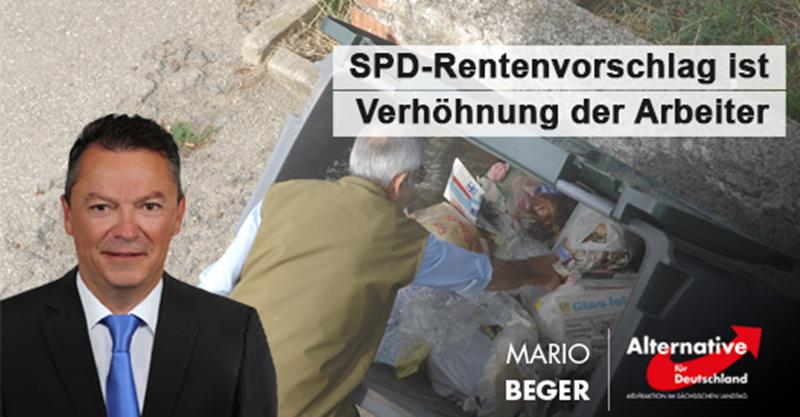 SPD-Rentenvorschlag ist Verhöhnung der Arbeiter