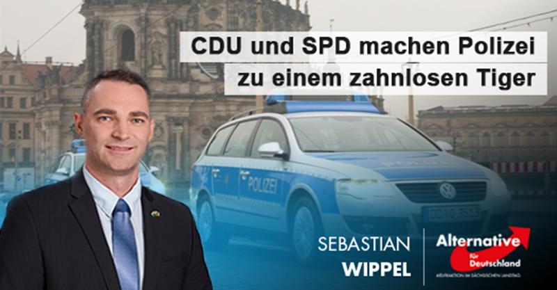 CDU und SPD machen Polizei zu einem zahnlosen Tiger