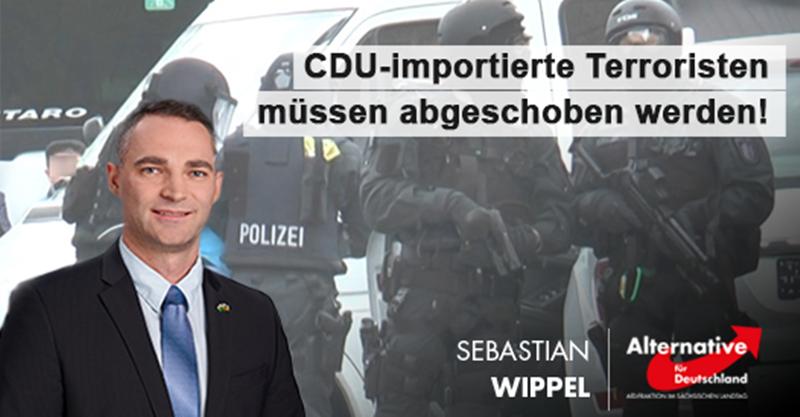 CDU-importierte Terroristen müssen abgeschoben werden!
