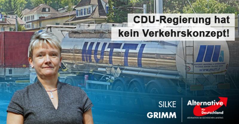 CDU-Unfähigkeit: Staatsregierung hat kein Verkehrskonzept!
