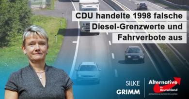 CDU handelte 1998 falsche Diesel-Grenzwerte und Fahrverbote aus