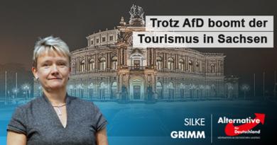Trotz AfD boomt der Tourismus in Sachsen