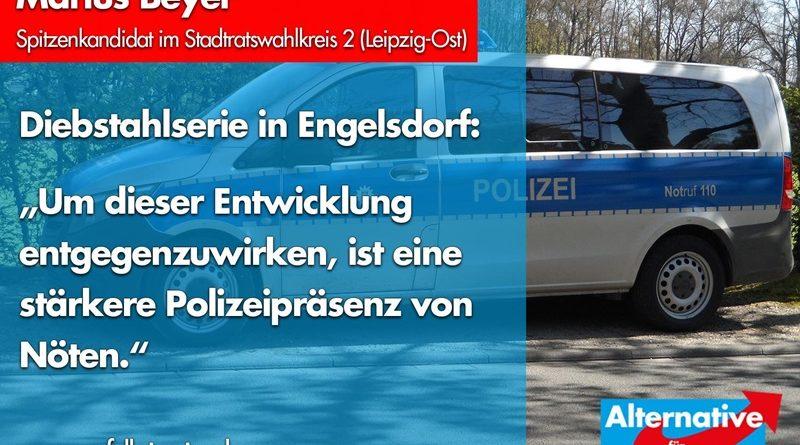 Diebstahlserie beutelt Engelsdorf – seit 3 Monaten!