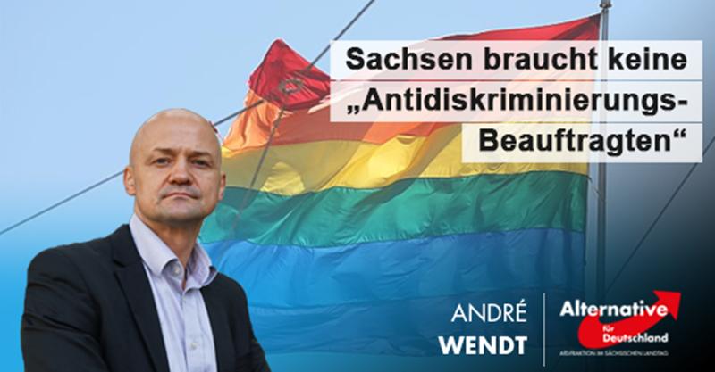"""Sachsen braucht keine """"Antidiskriminierungs-Beauftragten"""""""