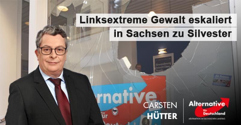 Linksextreme Gewalt eskaliert in Sachsen zu Silvester
