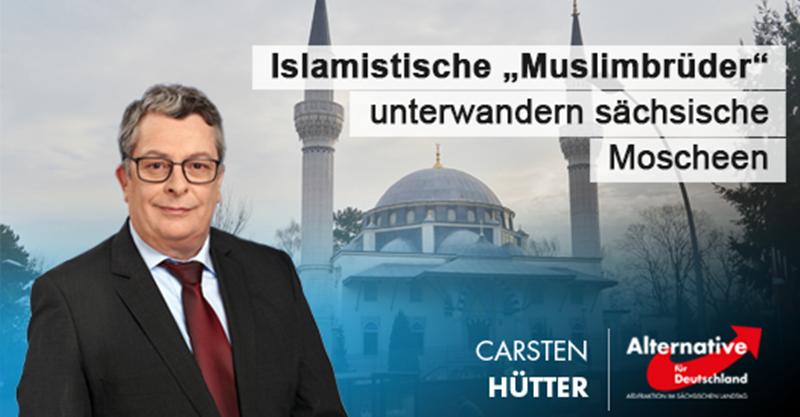 """Islamistische """"Muslimbrüder"""" unterwandern sächsische Moscheen"""