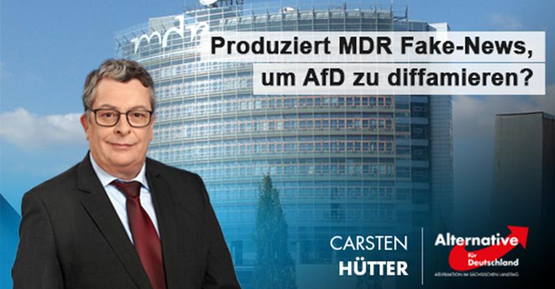 Produziert MDR Fake-News, um AfD zu diffamieren?