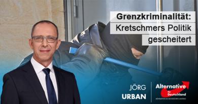 Grenzkriminalität: Kretschmers Politik gescheitert