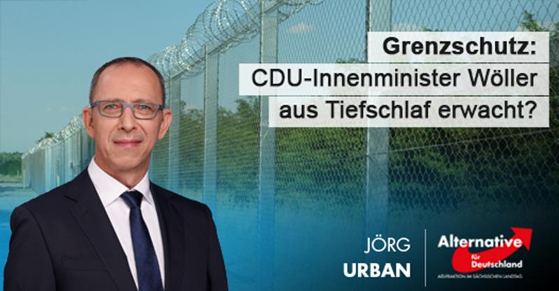 CDU-Innenminister Wöller aus Tiefschlaf erwacht?