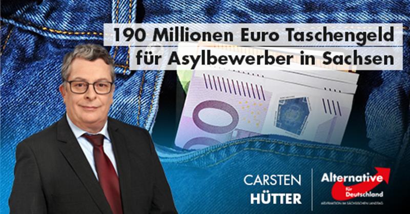 190 Millionen Euro Taschengeld für Asylbewerber in Sachsen