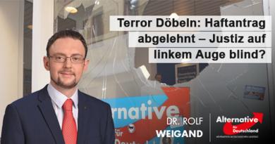 Döbeln: Amtsgericht lehnte Haftantrag ab – Justiz auf linkem Auge blind?