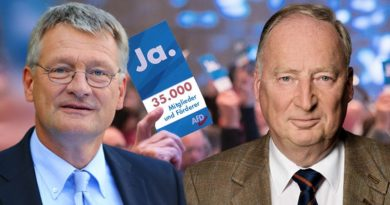 Glückwunsch AfD: Mit über 35.000 Mitgliedern und Förderern geht's ins Super-Wahljahr 2019