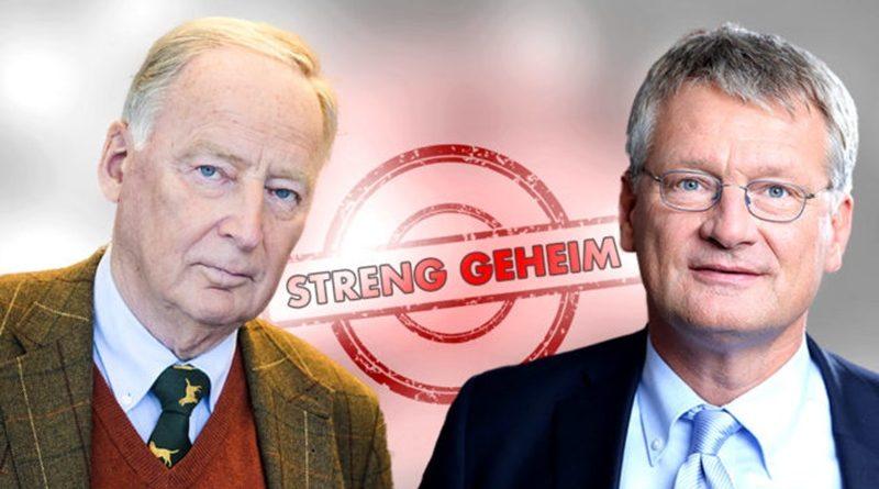 AfD-Bundessprecher kritisieren Verbreitung des internen BfV-Gutachtens an Medien