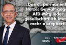 """""""Dank"""" permanenter Hetze: Gewalt gegen AfD-Mitglieder gesellschaftlich immer mehr akzeptiert!"""
