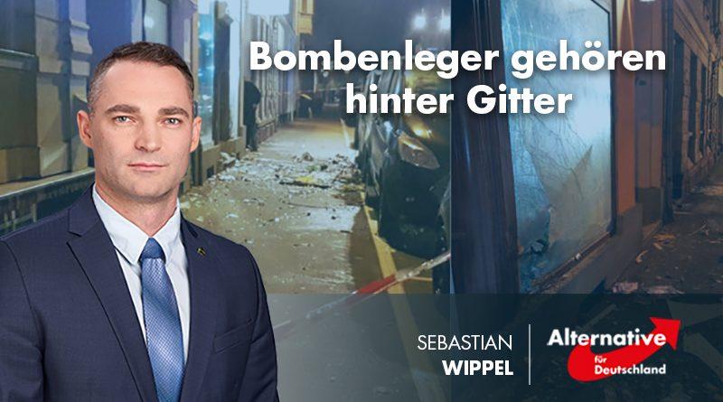 Bombenleger gehören hinter Gitter