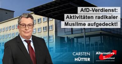 AfD-Verdienst: Aktivitäten radikaler Muslime aufgedeckt!