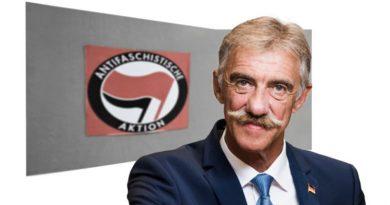 Rücktritt des SPD-Innenministers wegen Querverbindung zur Antifa geboten